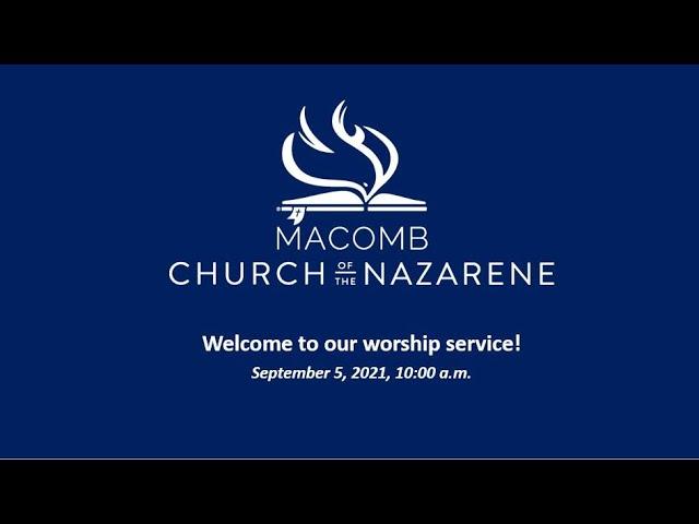 Sunday Morning Worship - September 5, 2021