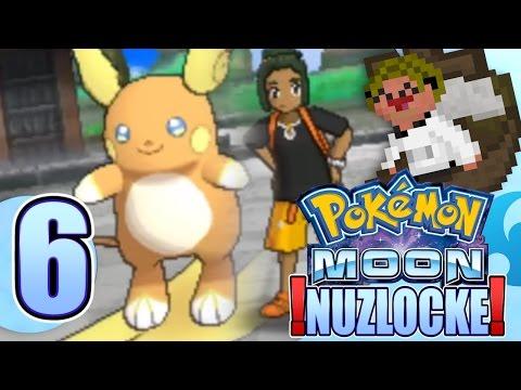 Pokemon Moon Nuzlocke CHALLENGE 💀- 【WAIT WHAT!?】 -Ep 6 LIVE