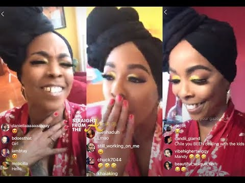 Khia LIVE From #NextCaller Video Shoot: Addresses Homophobic Claims + Shades TS Madision (Again)