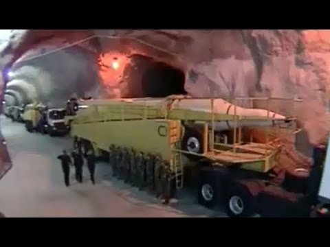 Iran, 500 meter Underground secret missile base