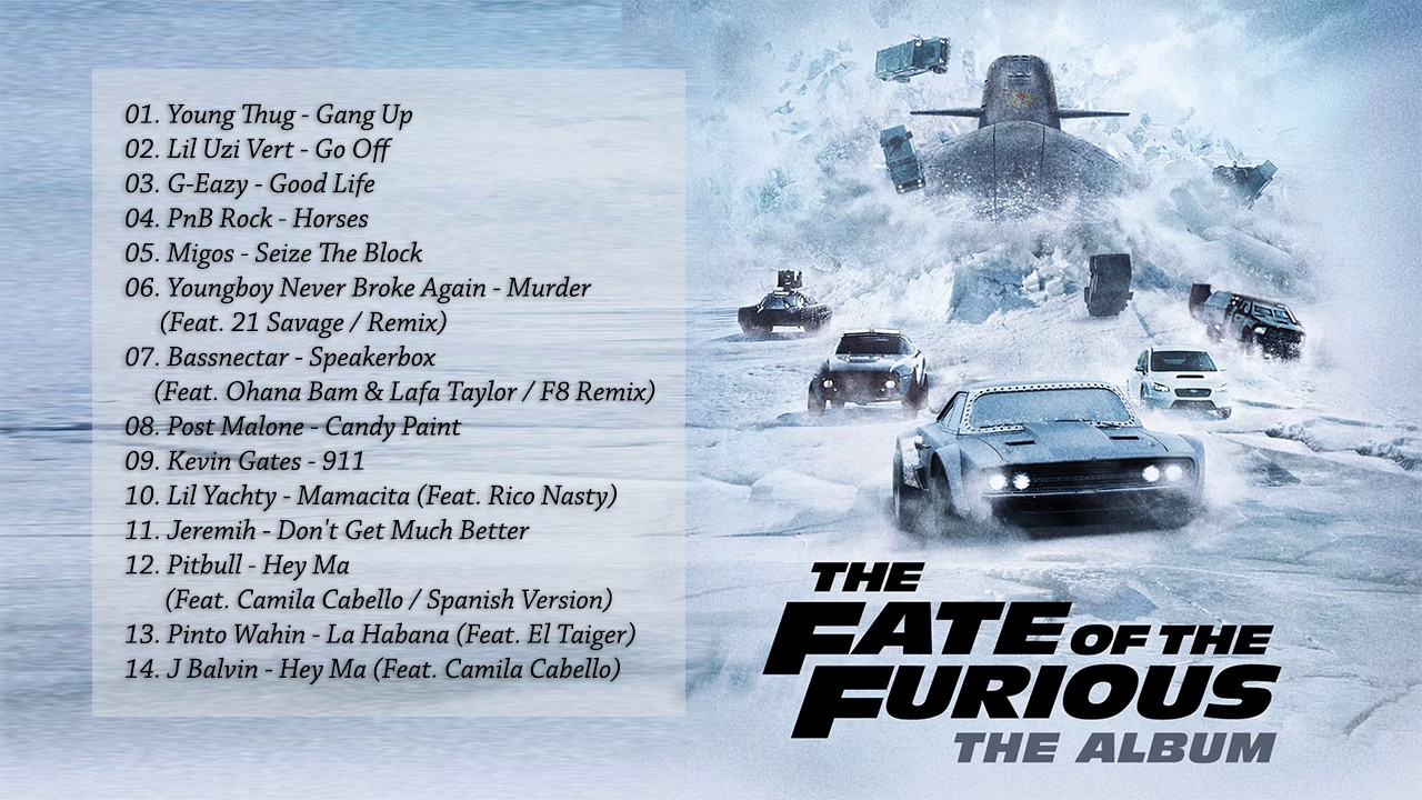 soundtrack the fate of the furious fast furious 8 youtube. Black Bedroom Furniture Sets. Home Design Ideas
