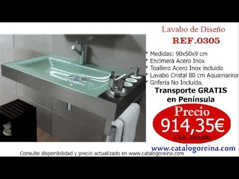 Lavabos de dise o lavabos modernos 0305 youtube - Diseno de lavabos ...