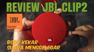 JBL CLIP 2 BLUETOOTH SPEAKER (REVIEW) INDONESIA