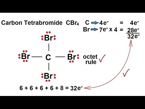 lewis diagram cbr4