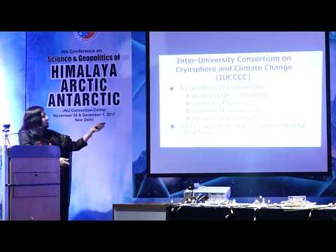 Dr Nisha Mendiratta: Addressing S&T Capacity building in Climate Change for the Indian Himalayan