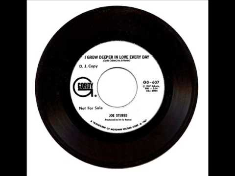 Joe Stubbs - I Grow Deeper In Love Every Day