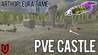 Easy Artho tame + PVE Castle! Small Tribes (Official PVP) Ep 9- ARK: Survival Evolved