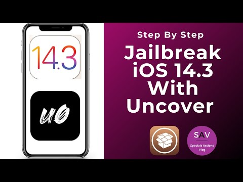 uncover iOS 14.3 Jailbreak   How to jailbreak iOS 14.3 Step By Step Jailbreak Tutorial ( #Uncover)