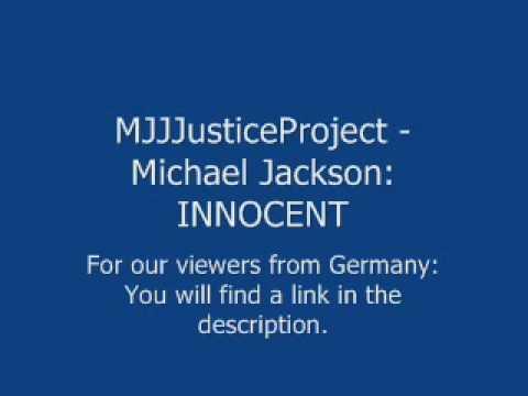 MJJJusticeProject - Michael Jackson: INNOCENT  (GERMANY)