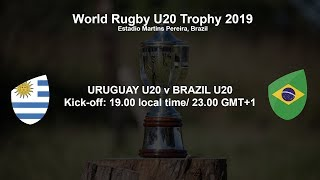 World Rugby U20 Trophy 2019 - Uruguay U20 v Brazil U20 thumbnail