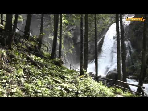 Gollinger Wasserfall Golling bei Salzburg Österreich Austria im Tennengau