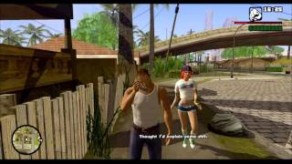 Grand Theft Auto San Andreas Remastered Version PC Gameplay 1080p HD