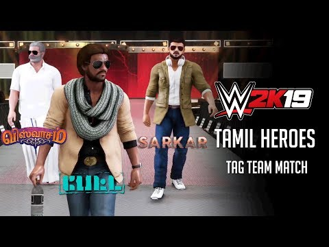 WWE2K19 - Tamil Heroes Tag Team Match thumbnail