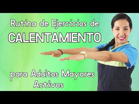 Rutina de Ejercicios de CALENTAMIENTO para Adulto Mayores Activos (10 minutos)