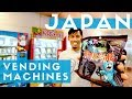 Top 10 Japanese Vending Machines in Tokyo Haneda Airport