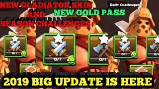 2019 New and Big Spring update in Clash of clans.