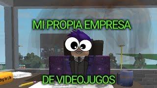 MEIN EIGENES VIDEOSPIELUNTERNEHMEN ROBLOX #1