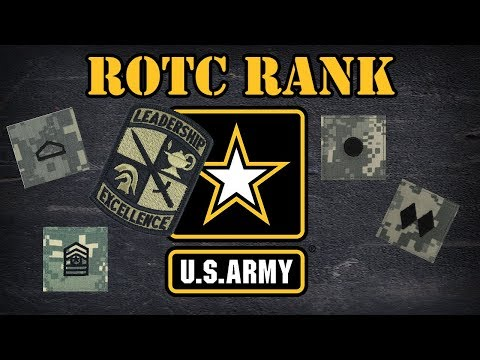 Army ROTC Rank