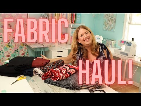 Online Fabric Haul   Stretchy Knits