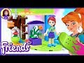 LEGO Friends Mia's Bedroom Build Review Silly Play Kids Toys