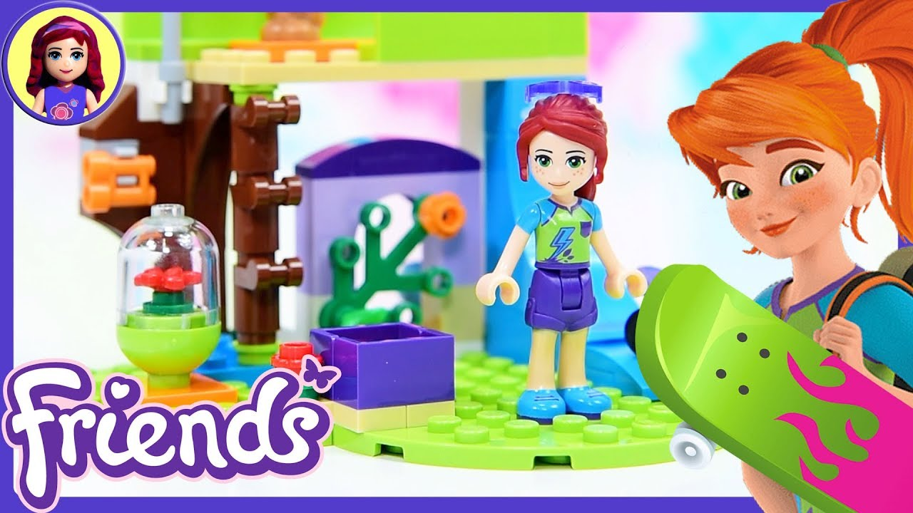 LEGO Friends Mias Bedroom Build Review Silly Play Kids