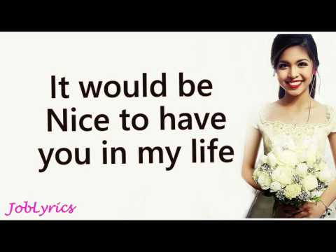 Maine Mendoza - Imagine You and Me (Lyrics)