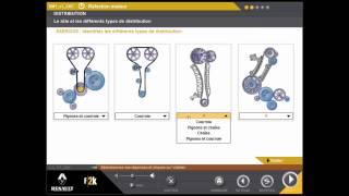 calage moteur - réfection moteur  (différent type de distribution - )