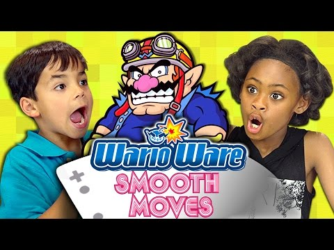 WARIOWARE: SMOOTH MOVES (Kids React: Gaming)