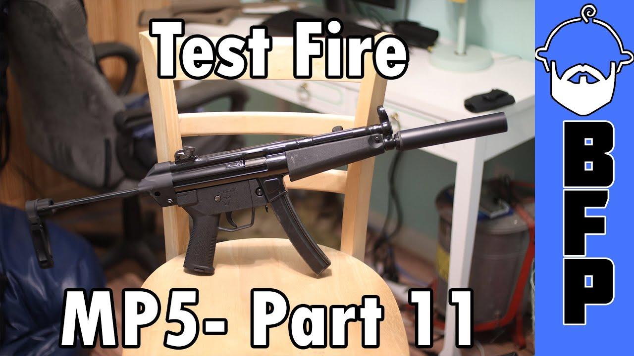 MP5 Test Fire