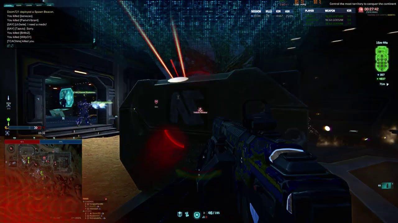 Planetside 2: Base Capture Reversal
