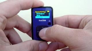 Sandisk Sansa Clip+ Reset Language from any Language