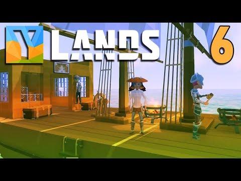 YLANDS - #6 - Sailing Away (4 Player Co-op!)