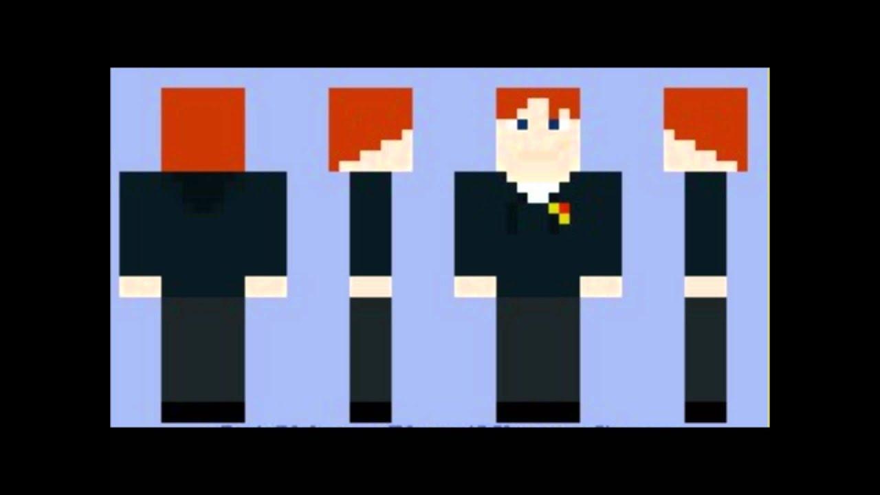 Minecraft Skins Harry Potter Youtube