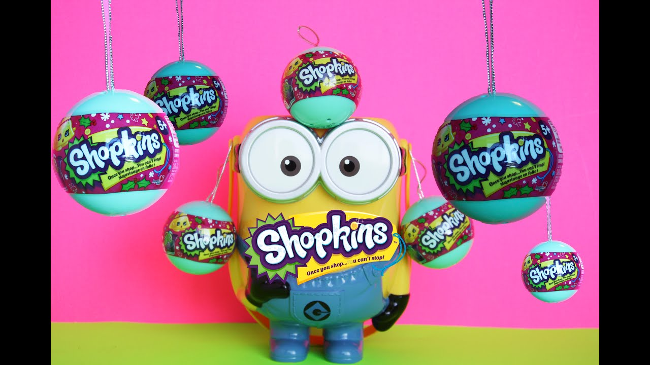 Shopkins Baubles Ornaments Toy Opening - YouTube