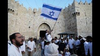 Triumphant mood in Jerusalem ahead of U.S. embassy opening
