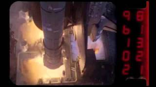Part 2: Space shuttle launches high-speed video camera slow motion views