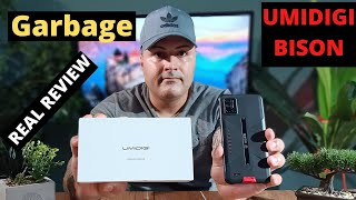 UMIDIGI BISON (REAL REVIEW) this phone has a lot of technical problems watch video to see