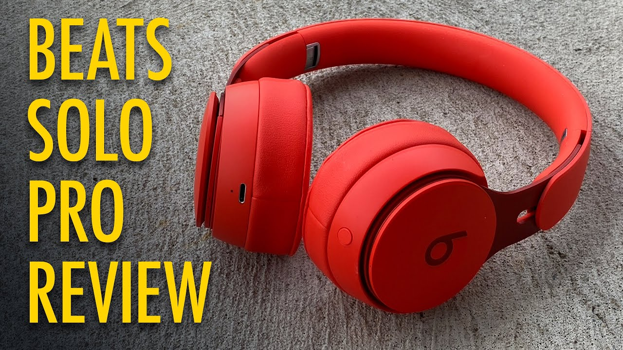Noise Canceling Beats Solo Pro Review One Week Later Youtube