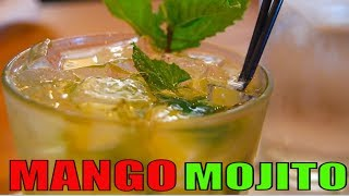 Mango Mojito Recipe  || How To Make Virgin Mango Mojito At Home ||  Mocktail Recipe