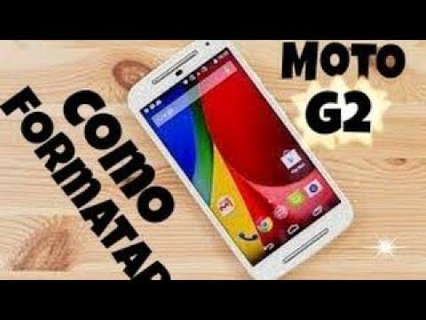 COMO FORMATAR O MOTO G (G2 2° GERAÇÃO)  ANDROID 6.0