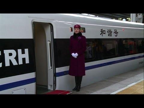 China: nueva ruta para tren bala
