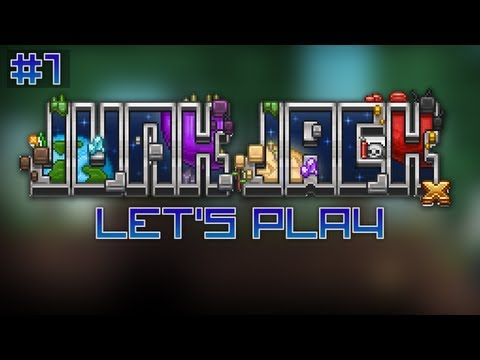 """Let's Play Junk Jack X Ep. 1 - """"Homes and Homes"""""""