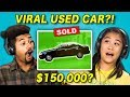 Teens React to Viral Videos: Used Car Commercials