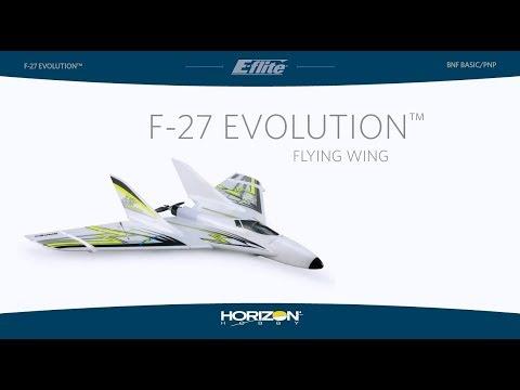 E-flite F-27 Evolution BNF Basic & PNP