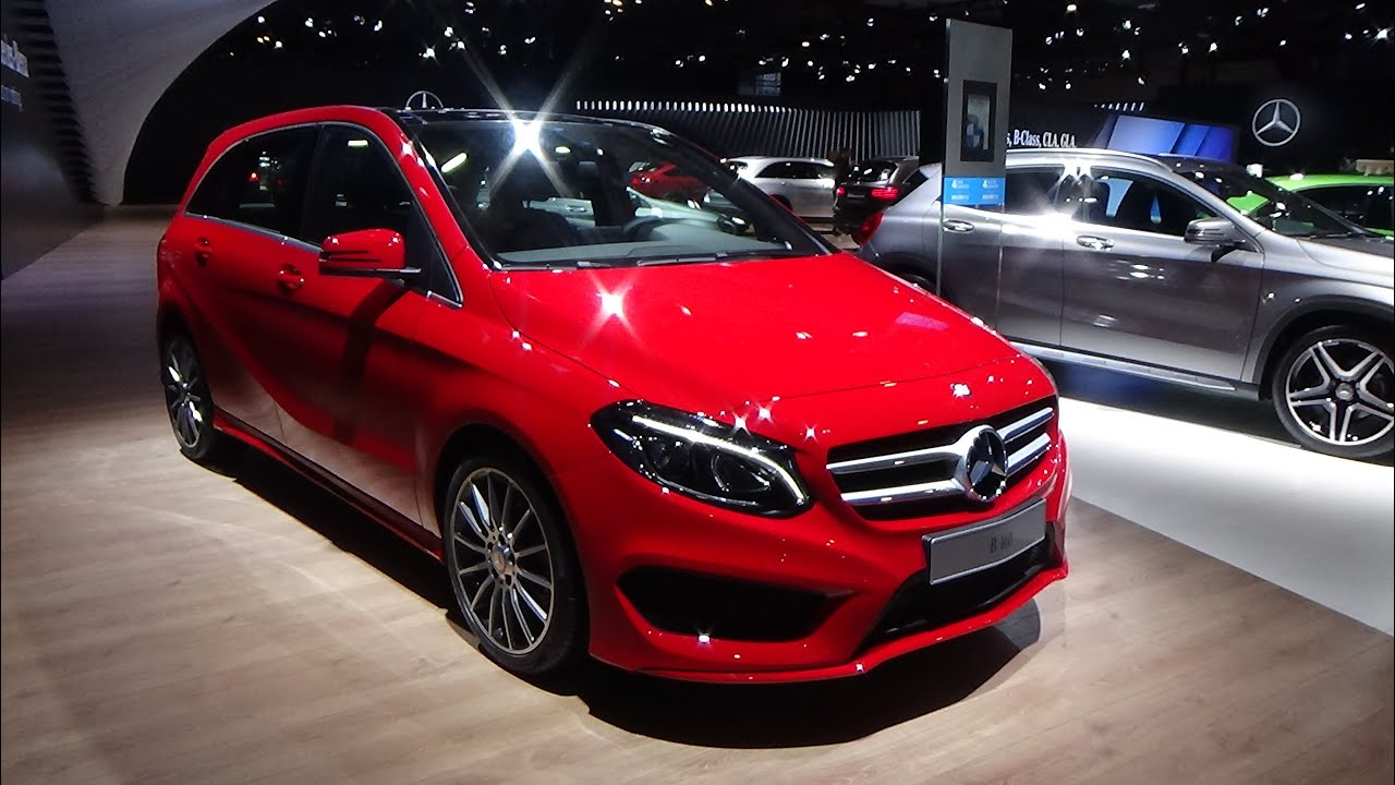 2016 mercedes benz b 160 exterior and interior auto show brussels 2016 youtube. Black Bedroom Furniture Sets. Home Design Ideas