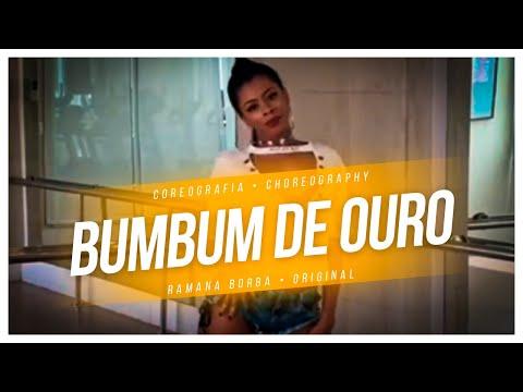 BumBum de Ouro - Gloria Groove ( Coreografia funk)/ Ramana Borba