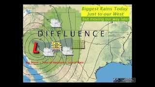Weather Briefing - Flood Threat - 3 pm Tue,  Oct 20, 2015
