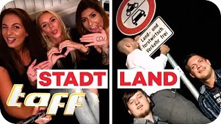 STADTMÄDELS vs. LANDBURSCHEN! Wer feiert am besten? | taff | ProSieben