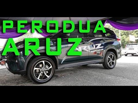 REVIEW AND WALK-AROUND PERODUA ARUZ 2019 #perodua #peroduaaruz #cardock