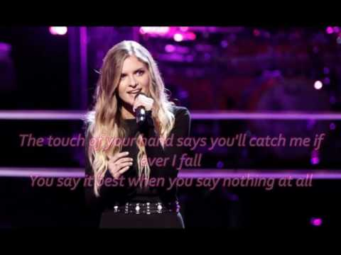 Lauren Duski - When You Say Nothing At All (The Voice Performance) - Lyrics